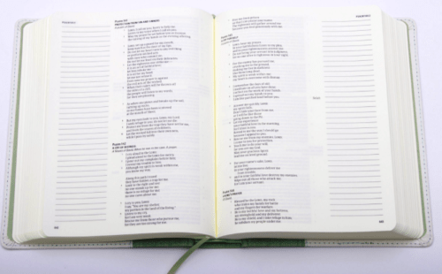 CSB Notetaking Bible - Interior