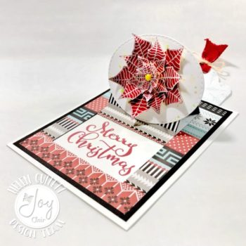 Pointsetta Surprise Pop Up Card