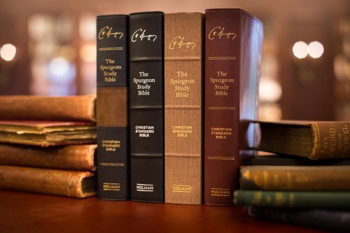 The Spurgeon Study Bible - Feature Photo