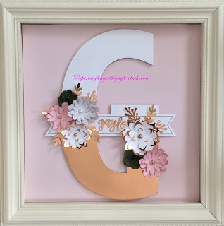 Papercrafting Monogram
