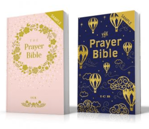 ICB Prayer Bibles