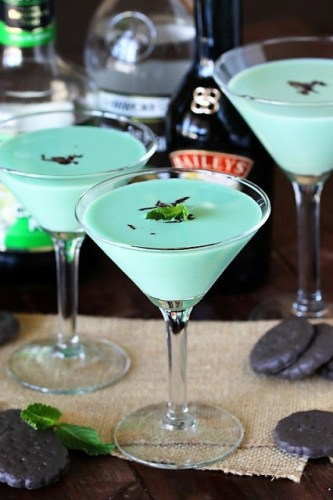 Thin Mint Cocktails