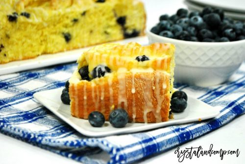 Lemon Blueberry Breakfast Rolls