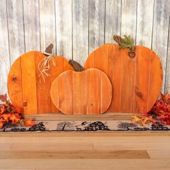 DIY Pumpkin Pallet
