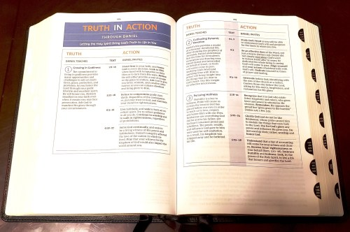 NKJV Spirit Filled Bible - Truth In Action - Rotated