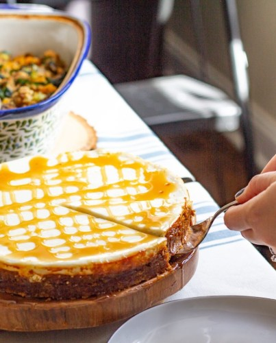 Reduced Fat Pumpkin Cheesecake