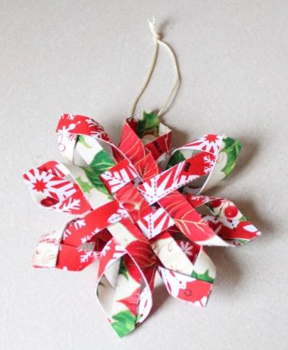 Woven Snowflake Ornament