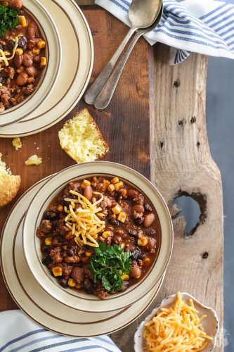 Two Bean Chili Con Carne