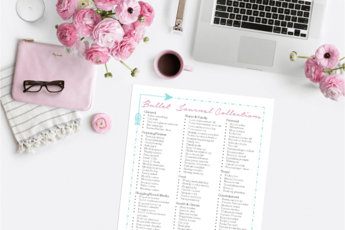 Krafty Planner - Bullet Journal Printables