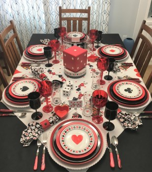 Card Game Tablescape
