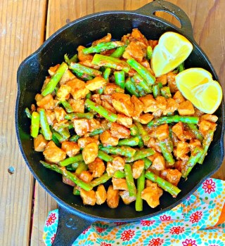 Chicken And Asparagus Skillet
