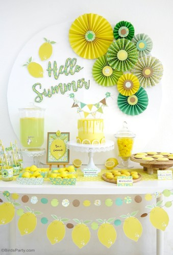 Lemon Themed Party Ideas