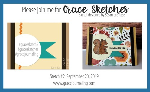 Grace Journaling - Sketch Challenge 1