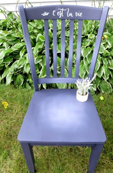 Purple Chair 1
