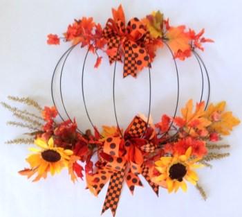 Gail - Wire Pumpkin