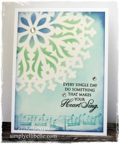 Heart Sing Card
