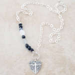 Holly Lane Shield Necklace