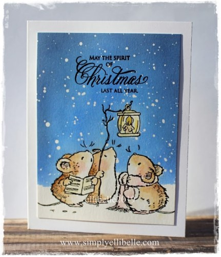Penny Black Christmas Card