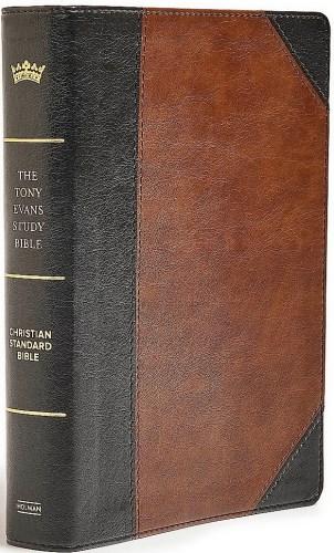 Tony Evans Study Bible - Black Brown Cover