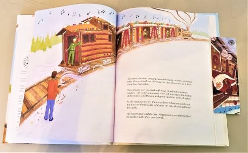 The Gingerbread Train - Interior 1