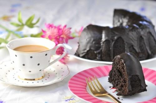 Black Chocolate Bundt Cake