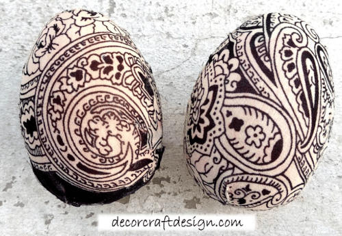 1-Fabric Easter Eggs