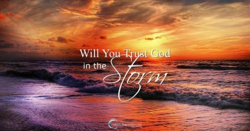3 - Trust God