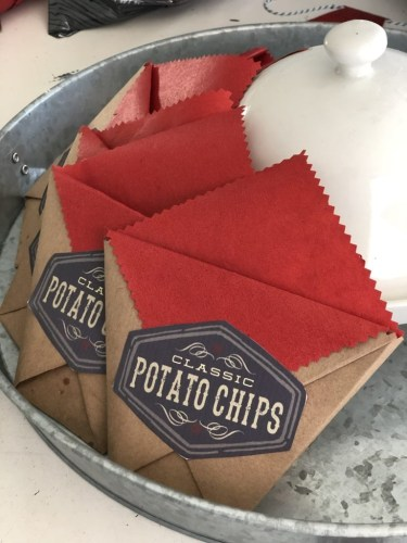 Old Fashioned Paper Snack Bags