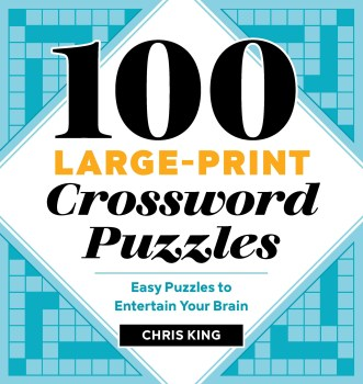 100 Large Print Crossword Puzzles