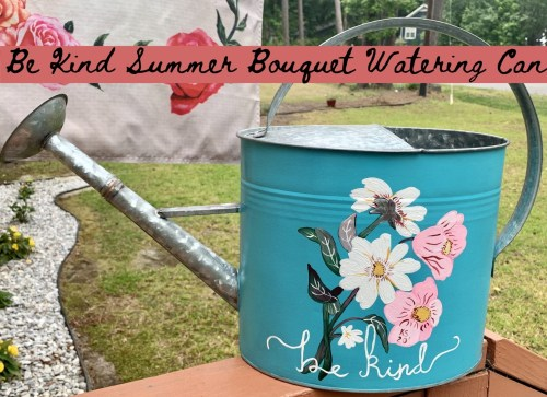 Be Kind Watering Can
