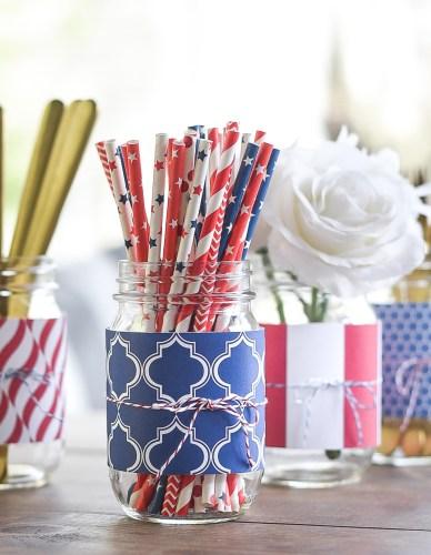 Red-White-Blue-Mason-Jar-Scrapbook-Paper