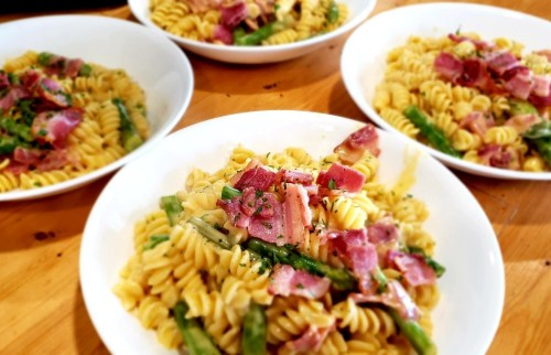 Asparagus-Mac-Cheese-Bowls