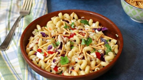 Pasta-Salad-With-Chicken