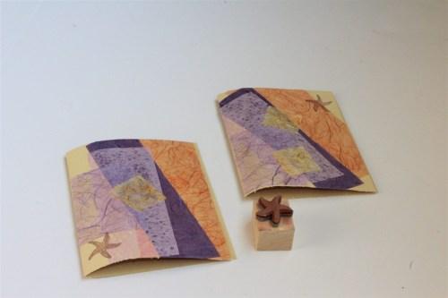 Beach Themed Handmade Cards