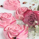 Hand Painted Rose Soap