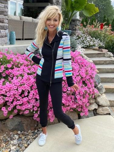 Andrea Wearing Eva Varro