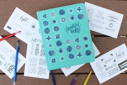 NIV Beautiful Word Bible For Girls Gift Set
