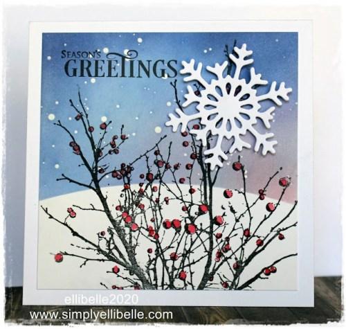 Winter Scenes Card