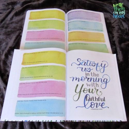 Write Satisfied On My Heart - Interior