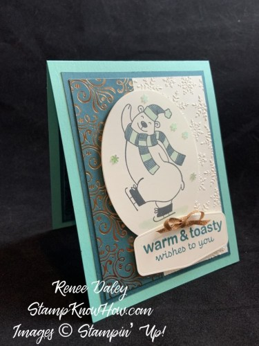 Warm and Frosty Card