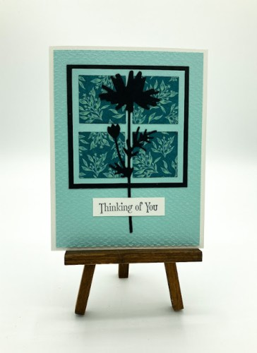 Thinking Of You Silhouette Card