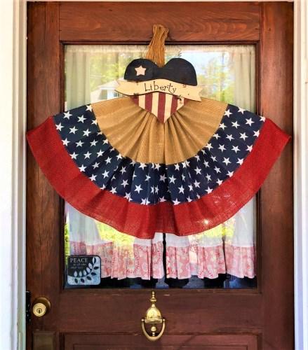 Americana Front Door Decoration