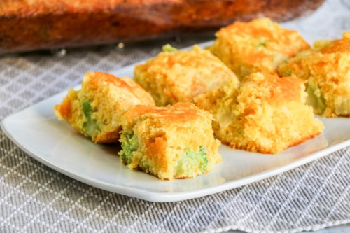 Broccoli-Cheddar-Cornbread
