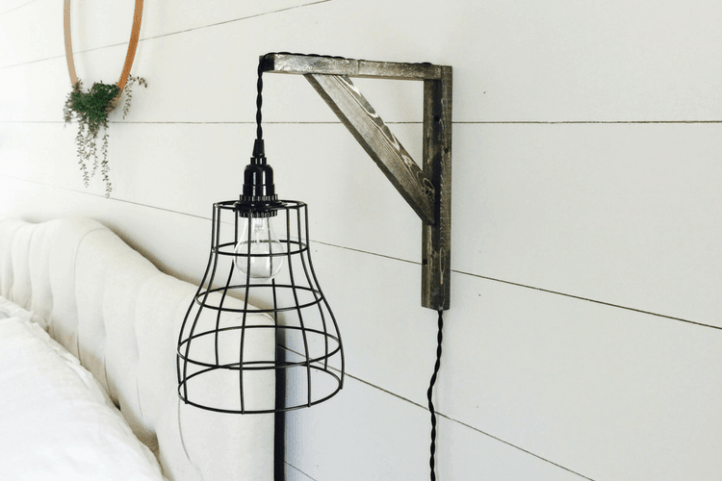 DIY Industrial Farmhouse Pendant Lights