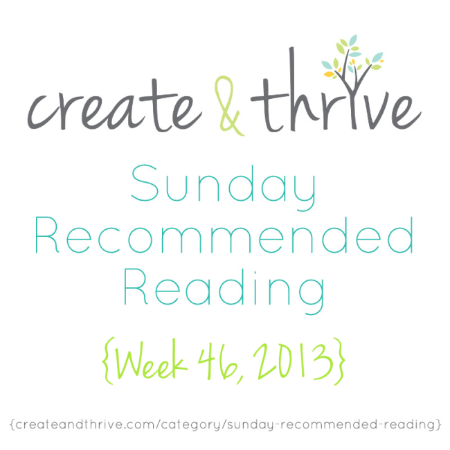C&T Recommended Reading Week 46 2013