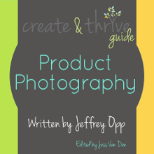 1-Create & Thrive Ebook Cover Product Photography 220
