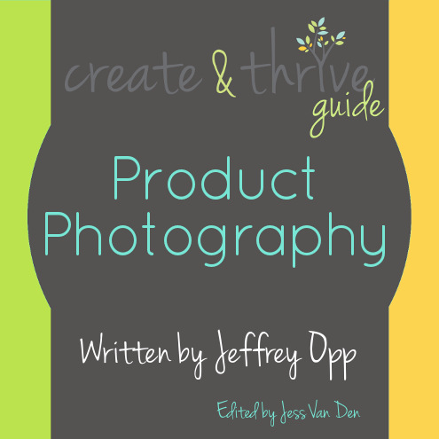 1-Create & Thrive Ebook Cover Product Photography