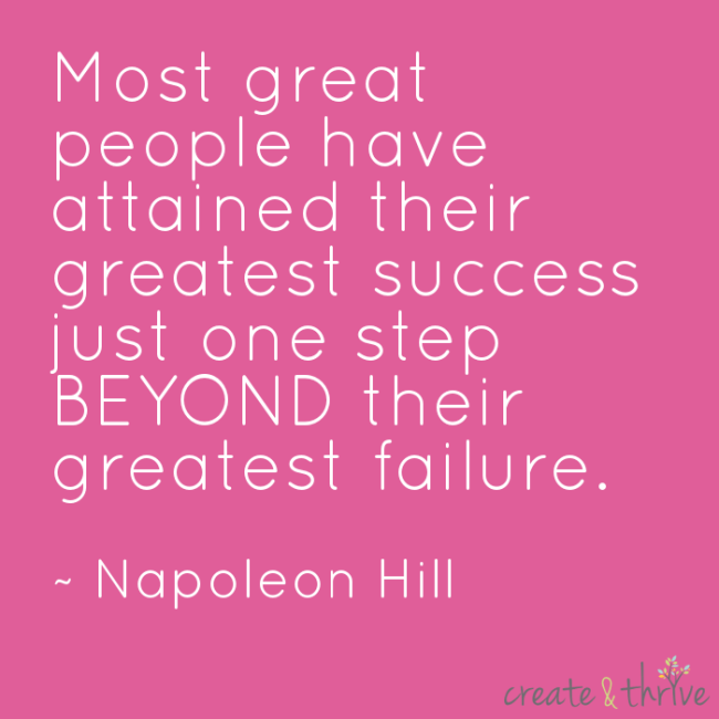 Napolean Hill Success Quote