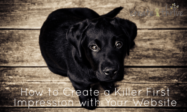 How to create a killer first impression
