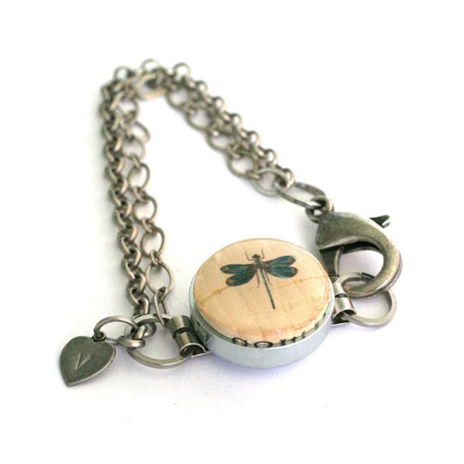 dragonfly bracelet by cat ivins